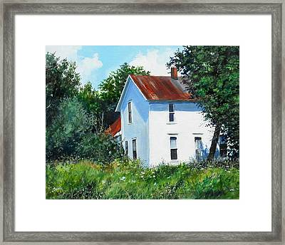 White House Framed Print by William  Brody