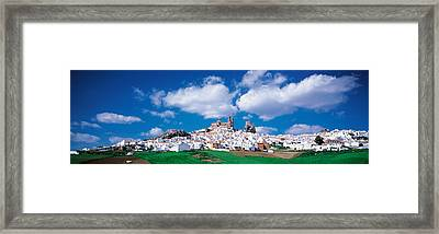 White Houses Andalusia Olvera Spain Framed Print