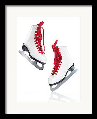 Skates Framed Prints
