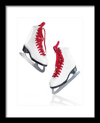 Figure Skate Framed Prints