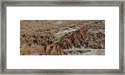 White Is Leeched Out Salts, Valle Del Framed Print by Panoramic Images