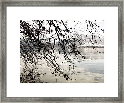 Framed Print featuring the photograph White Lake by Persephone Artworks