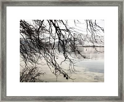 White Lake Framed Print