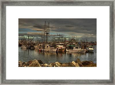 White Mist Framed Print by Randy Hall