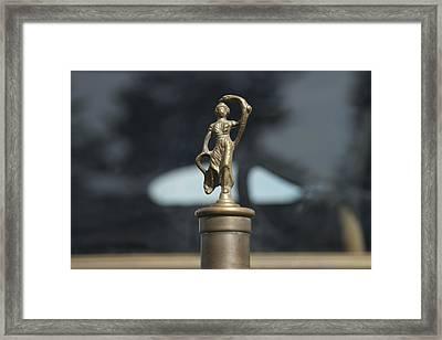 White Motors Framed Print