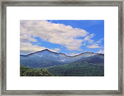 White Mountains Framed Print by Andrea Galiffi