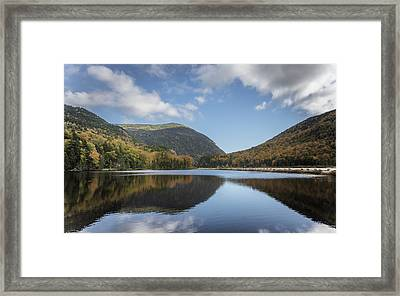 White Mountains Reflection Framed Print by Chris Fletcher