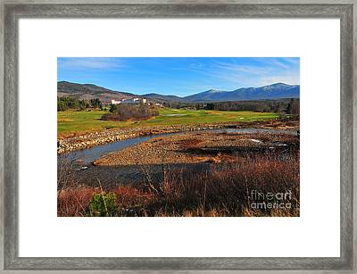 White Mountains Scenic Vista Framed Print by Catherine Reusch Daley