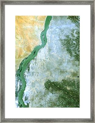 White Nile Sudan Framed Print by Anonymous