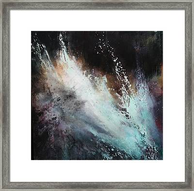 White Noise Framed Print by Lissa Bockrath