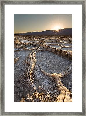 Death Valley - White Ocean Framed Print by Francesco Emanuele Carucci