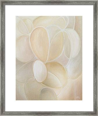 White On Framed Print