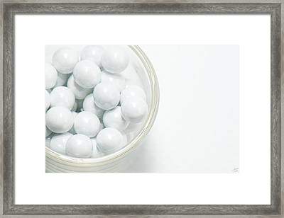 Framed Print featuring the photograph White On White by Lisa Knechtel
