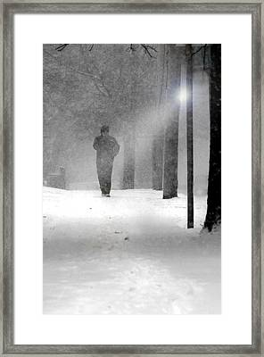 White Out  Framed Print by Diana Angstadt
