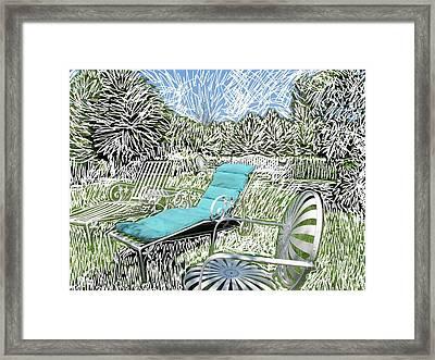 White Out Framed Print by Margaret Lindsay Holton