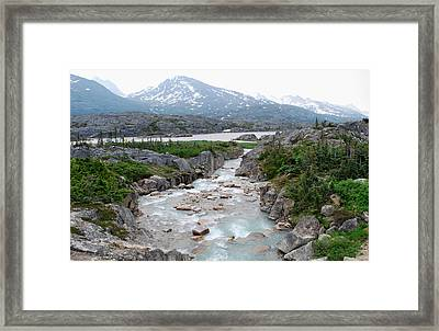 White Pass Framed Print by Terence Davis