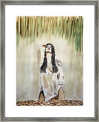 White Passion Framed Print by Shlomo Zangilevitch