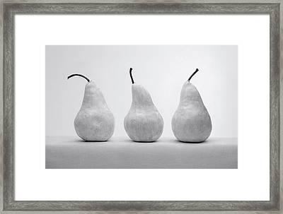 White Pears Framed Print by Krasimir Tolev