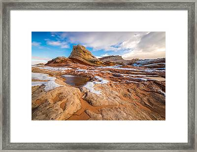 White Pocket Utah 3 Framed Print