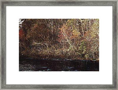 Framed Print featuring the photograph White River by Donna Smith