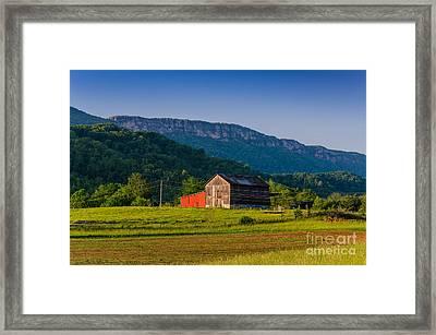 White Rocks Farm Framed Print by Anthony Heflin