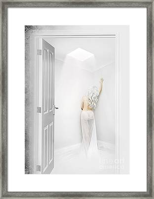White Room Framed Print