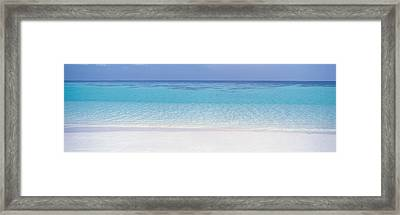 White Sand Beach Framed Print by Panoramic Images