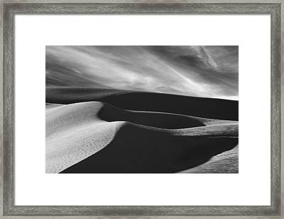 White Sands #2 Framed Print