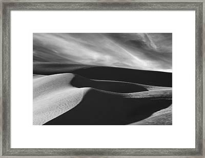 White Sands #2 Framed Print