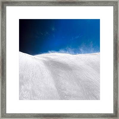 White Sands Desert Framed Print by Julian Cook