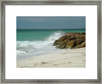 White Sands Framed Print by Judy Palkimas
