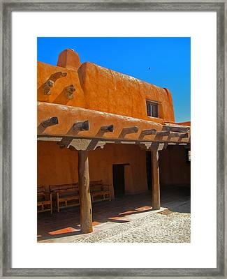 White Sands New Mexico Adobe 03 Framed Print by Gregory Dyer