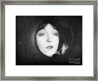 White Sister Framed Print