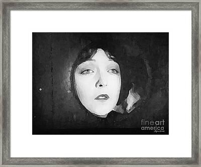 White Sister Framed Print by Lyric Lucas