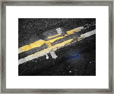 White Stripes Framed Print by Charles Stuart