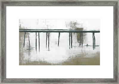 White Veil  Framed Print by Lonnie Christopher