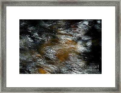 White Water Pisgah Forest Framed Print by Allen Carroll