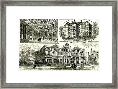 Whitechapel London U.k Framed Print by English School