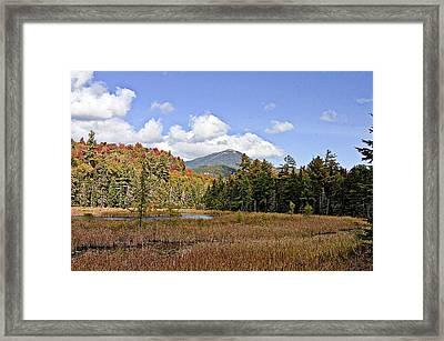 Whiteface Mountain Framed Print