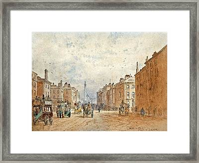 Whitehall Framed Print by MotionAge Designs