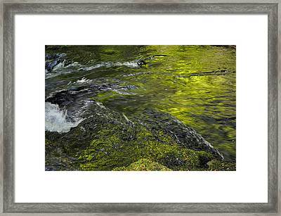 Whitehorse Falls Series 1 Framed Print by Teri Schuster