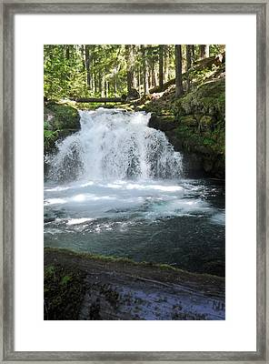 Whitehorse Falls Series 9 Framed Print