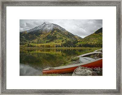 Whitehouse Mountain Framed Print by Idaho Scenic Images Linda Lantzy
