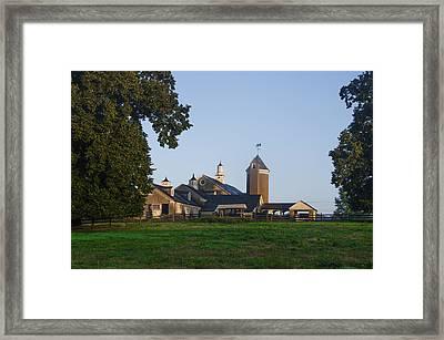 Whitemarsh Pa - Erdenheim Farm Framed Print by Bill Cannon
