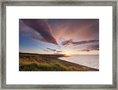 Whitepark Bay Framed Print