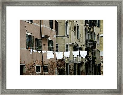 Whiter Than White Framed Print