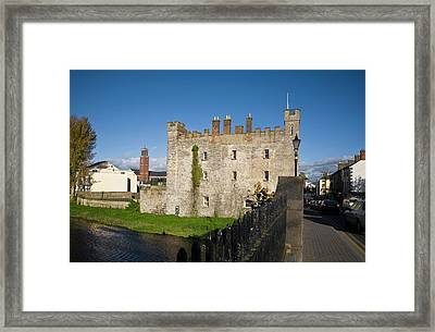 Whites Castle,bridge Over The River Framed Print by Panoramic Images