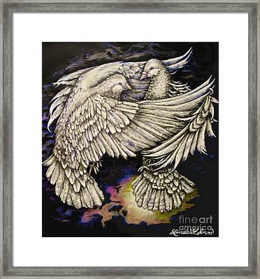 Whites Framed Print by Linda Simon