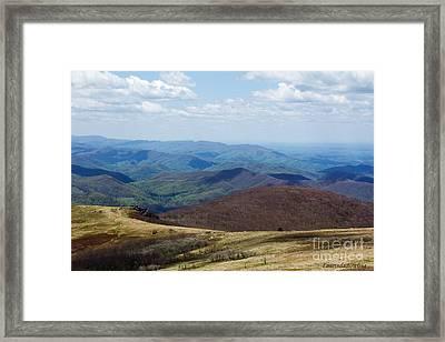 Whitetop Mountain Virginia Framed Print