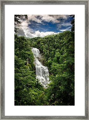 Whitewater Falls Framed Print